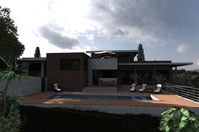 Villa corbère-les-cabanes - Perspective 1