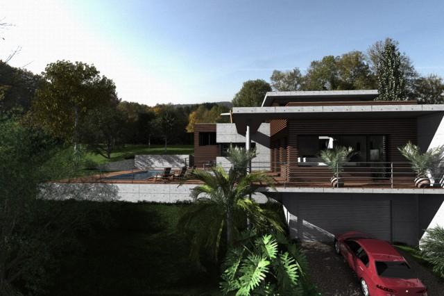 Villa corbère-les-cabanes - Perspective 2