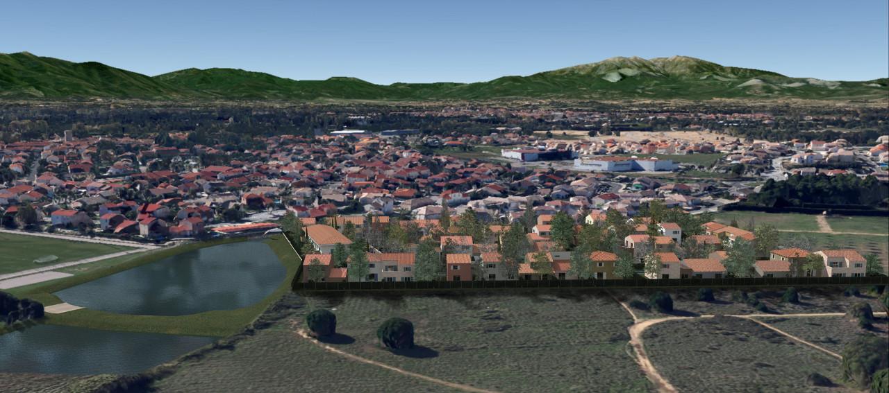 Colline des Poètes - Vue Google Maps 1