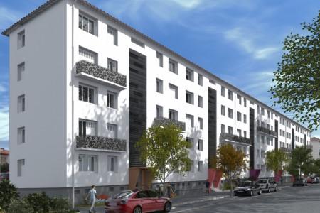 Réhabilitation d'immeubles à Perpignan...